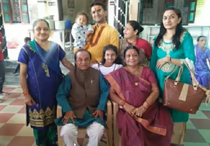 natu kaka ghanshyam nayak family wife son » Trishul News Gujarati Breaking News