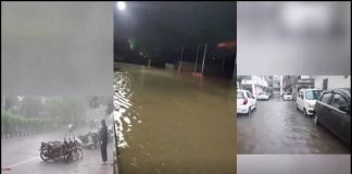 in surat 4 inches fell in 4 hours in choryasi water flooded on » Trishul News Gujarati Breaking News
