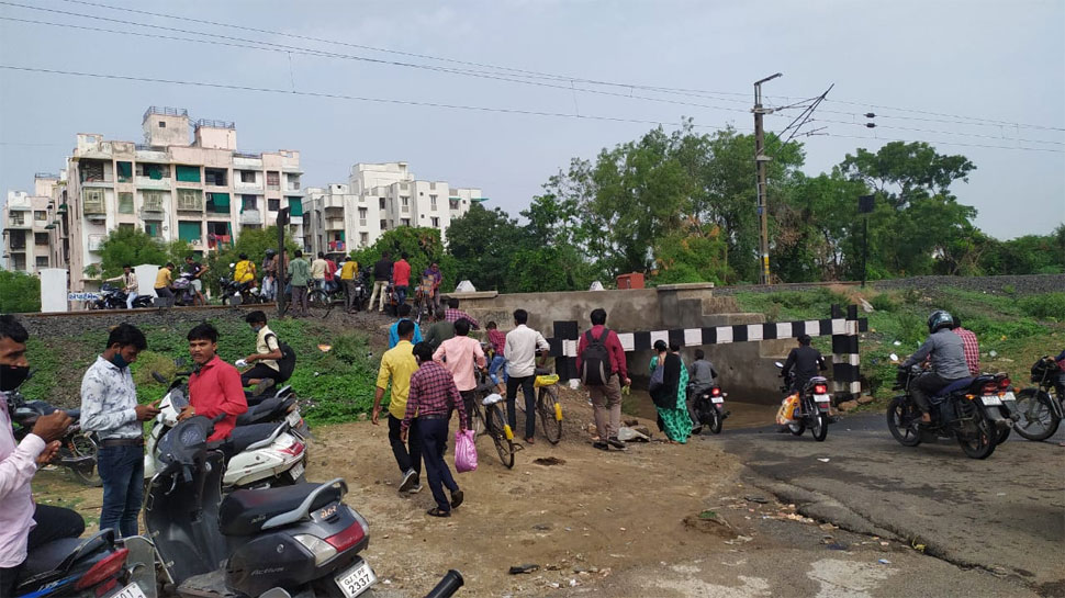 rainfall in ahmedabad water logging in many areas 1 » Trishul News Gujarati Breaking News