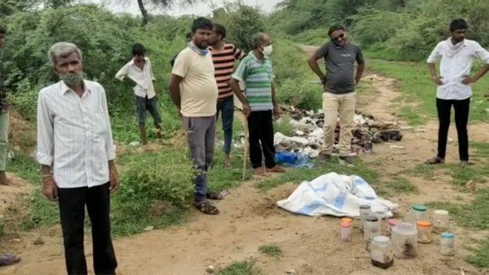 it was found from 13 plastic boxes lying on the road that1 » Trishul News Gujarati Breaking News 13 માનવ ભ્રૂણ, ગુજરાત, તાવડીયા રોડ, પાટણ, ભ્રુણ હત્યા, સંતરામપૂર, સિદ્ધપુર