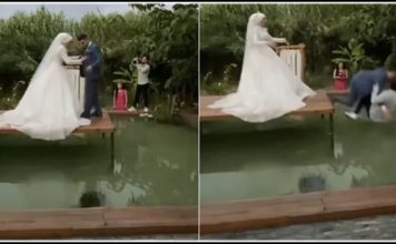 the bride made a move with the groom and the photographer that trishulnews » Trishul News Gujarati Breaking News