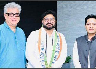 bjp leader and former union minister babul supriyo joins trinamool congress trishulnews » Trishul News Gujarati Breaking News